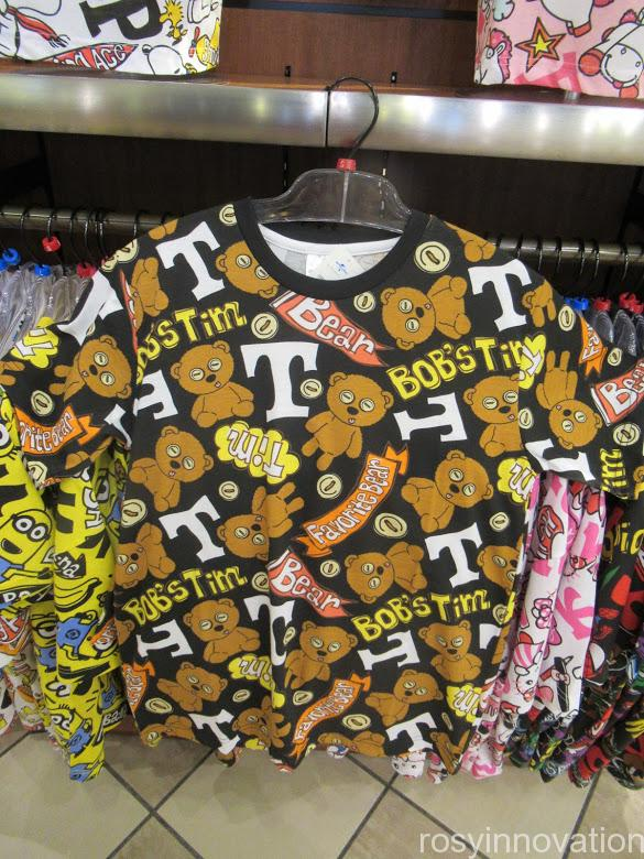 USJ Tシャツ ティム 総柄