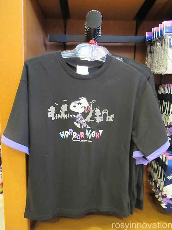 USJ2021年ハロウィンスヌーピーグッズ ファッション Tシャツ