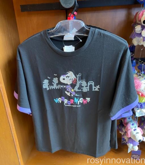 1USJ2021年ハロウィンスヌーピーグッズ ファッション Tシャツ