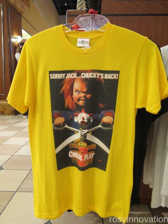 USJ Tシャツ チャッキー 黄色