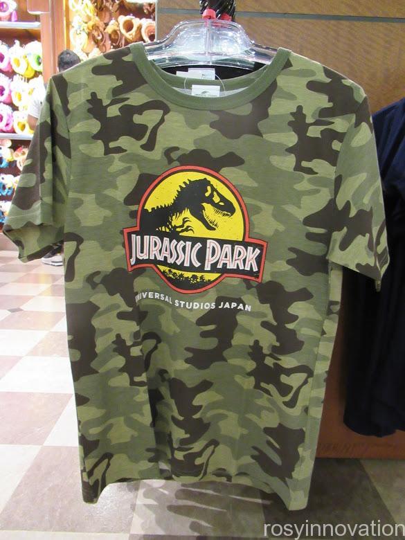 USJ Tシャツ ジュラシックパーク 迷彩