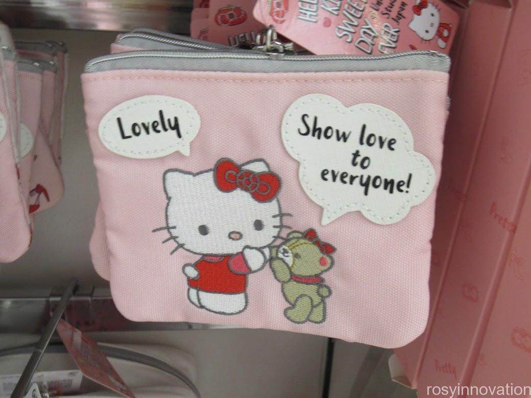 キティ&タイニーチャムのグッズ「SWEETEST DAY EVER」 雑貨 ティッシュポーチ