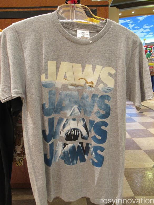 USJ Tシャツ ジョーズ ロゴグレー