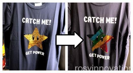 マリオのTシャツまとめ スーパースター