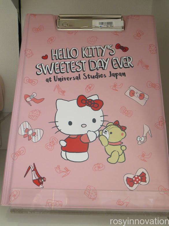 キティ&タイニーチャムのグッズ「SWEETEST DAY EVER」 文房具 バインダー