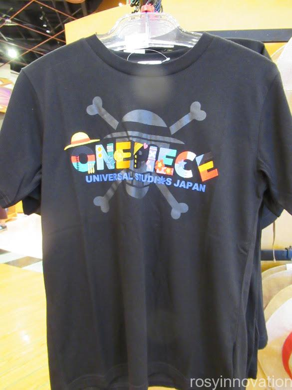 ユニバワンピースグッズ2021まとめ ファッション Tシャツロゴ