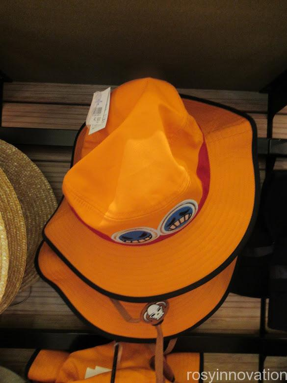 USJワンピースグッズ2021 身に着け 帽子 エース