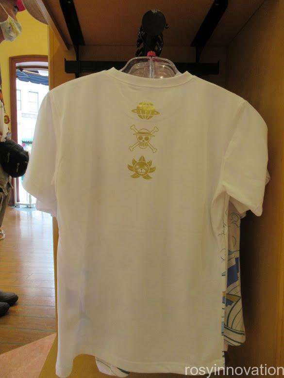 USJワンピースグッズ2021 ファッション Tシャツ裏