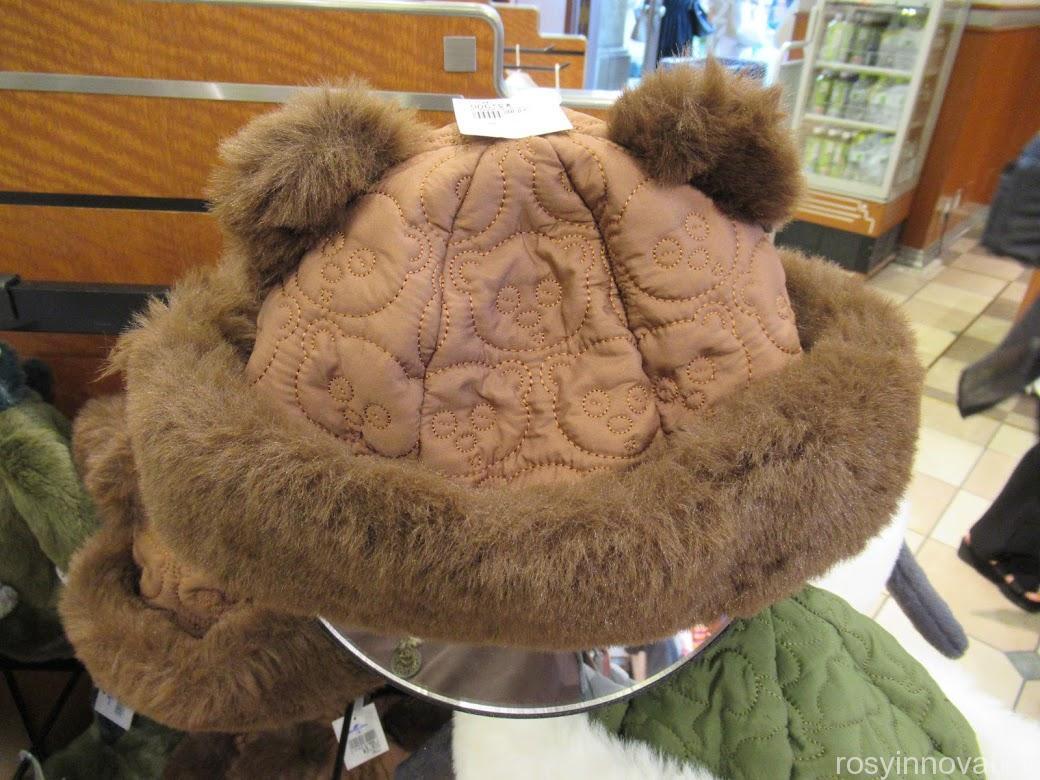 USJ秋冬帽子追加2021年10月 tキルティングスヌーピー