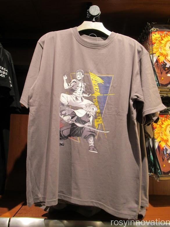 USJ鬼滅の刃グッズ ファッション Tシャツあかざと煉獄